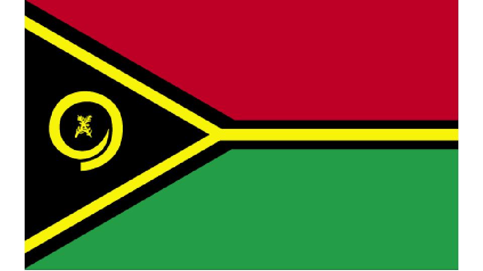 Flag for Vanuatu