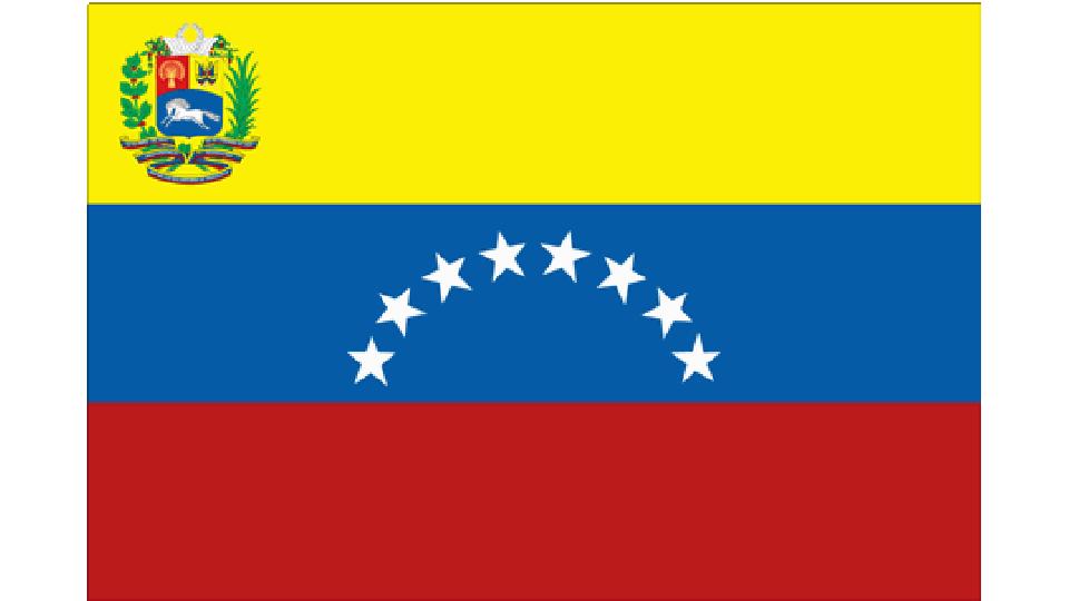 Flag for Venezuela