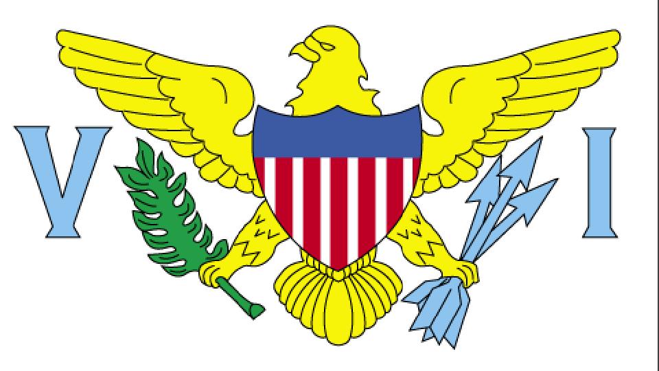 Flag for US Virgin Islands
