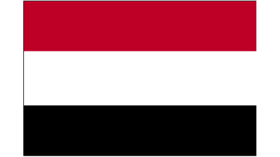 Flag for Yemen