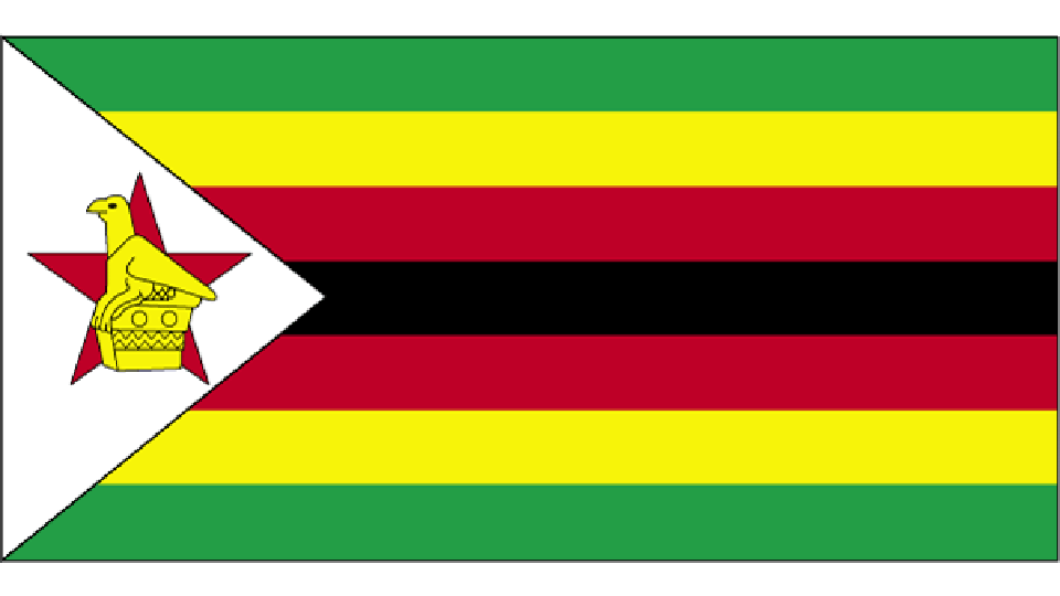 Flag for Zimbabwe