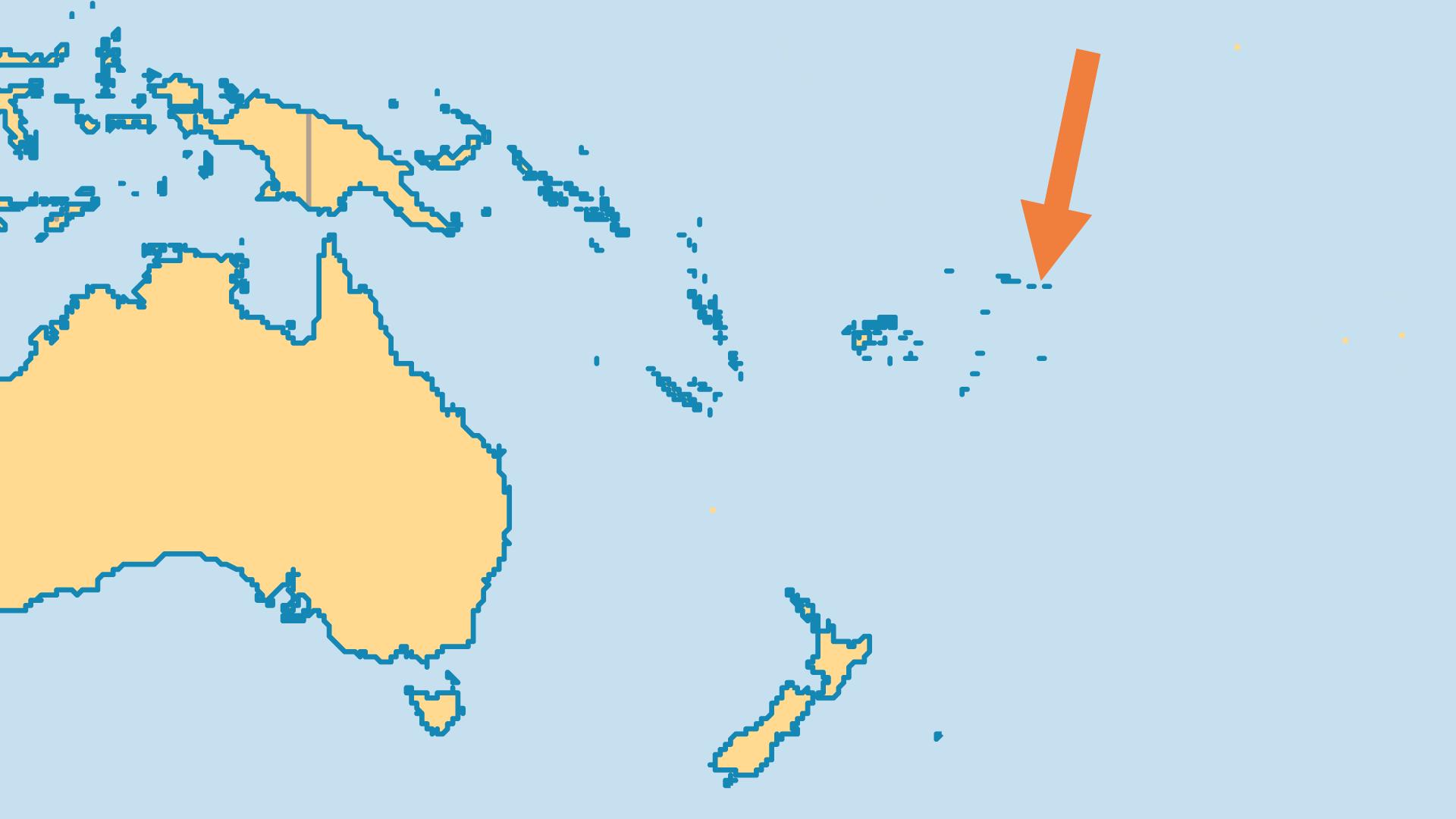 Locator Map for American Samoa