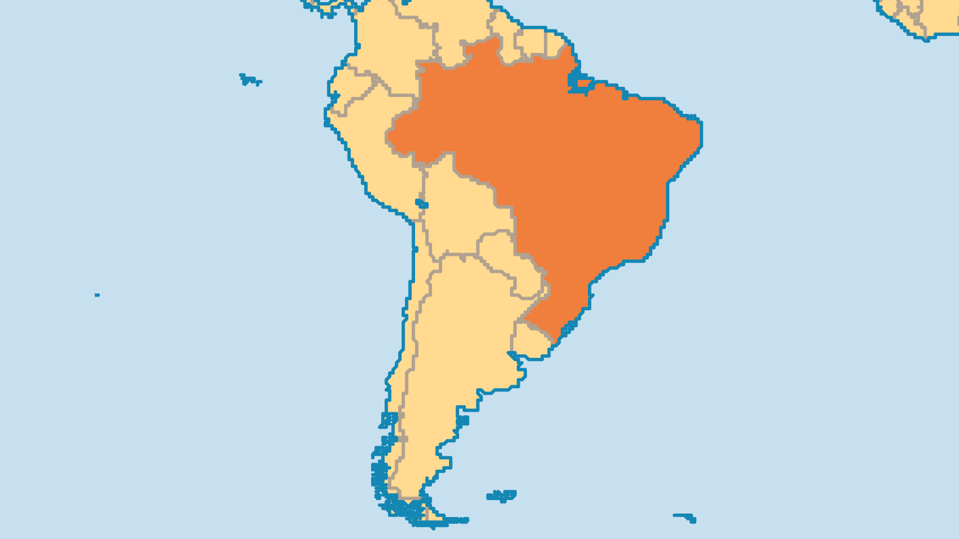 Locator Map for Brazil