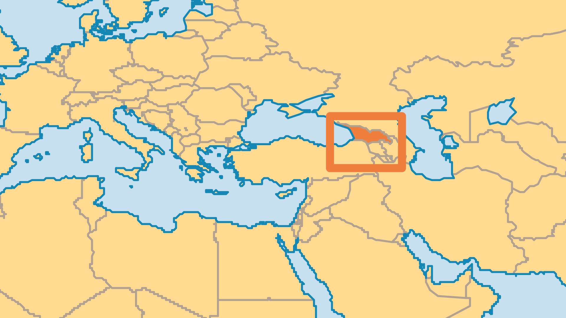 Locator Map for Georgia