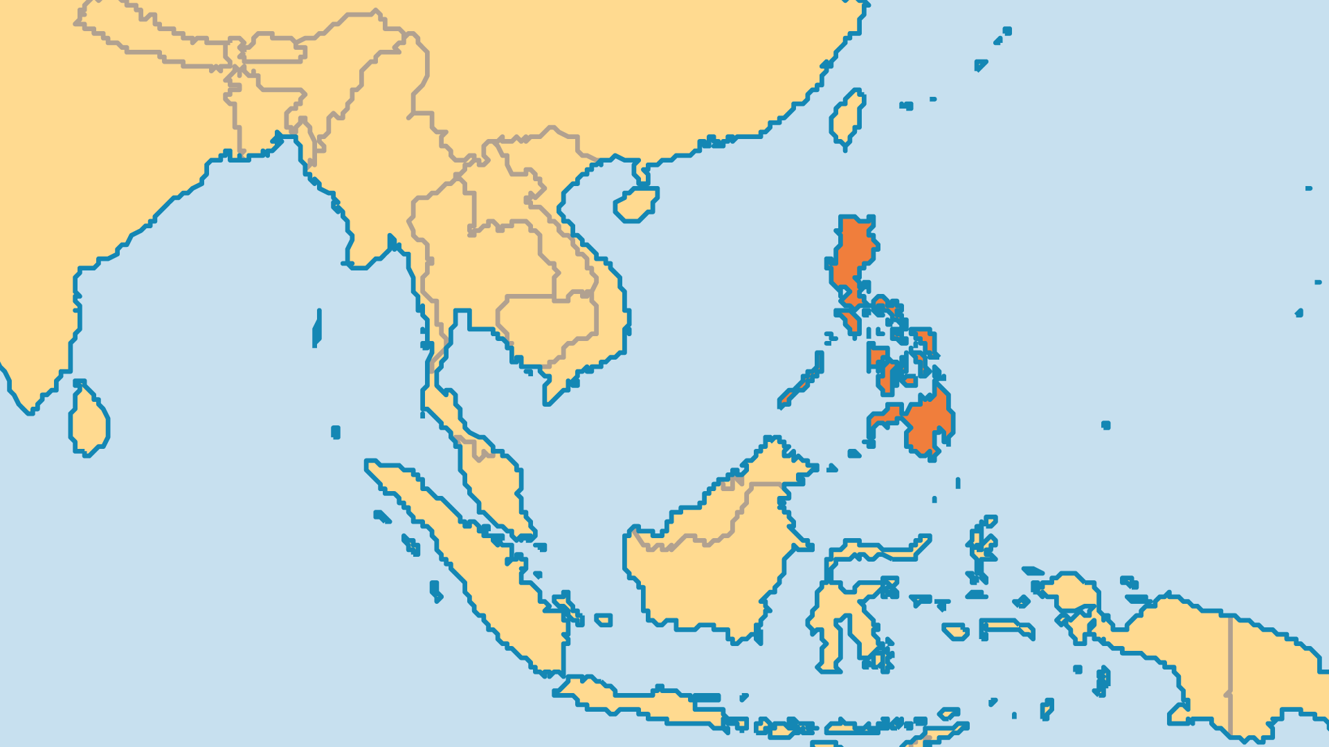 Locator Map for Philippines