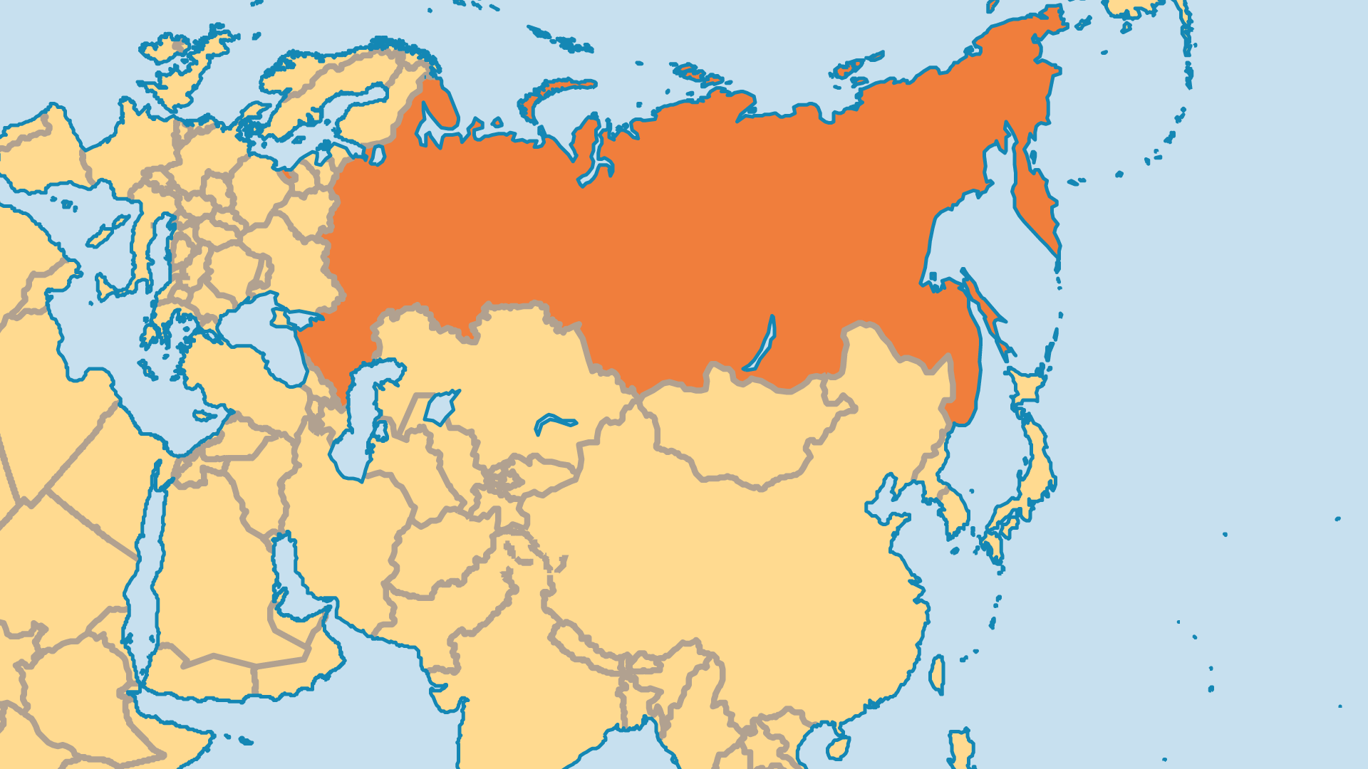 Locator Map for Russia