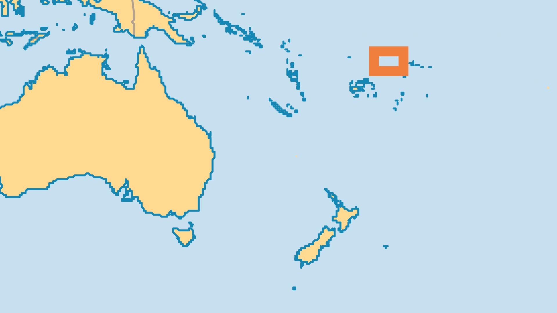 Locator Map for Wallis & Futuna Islands